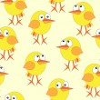 Chicken repetition — Vector de stock #7118745
