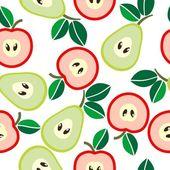 フルーツの背景 — ストックベクタ