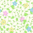 Seamless floral pattern — Stock Vector #7120845
