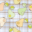 Pear repetition — Vector de stock #7120877