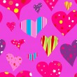 Seamless valentine pattern — Stock Vector #7120895