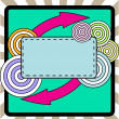 Abstract card - Stock Vector
