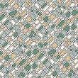 Seamless tile pattern - Stock Vector