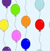 Ballon repetition — Stock Vector