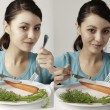 I'm on a diet — Stock Photo