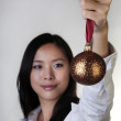 Christmas baubles — Stock Photo #7617500