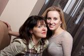 一緒に美しい若い女の子 — ストック写真