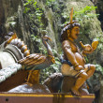 Batu-Höhlen-Tempel, Kuala lumpur — Stockfoto #6870177