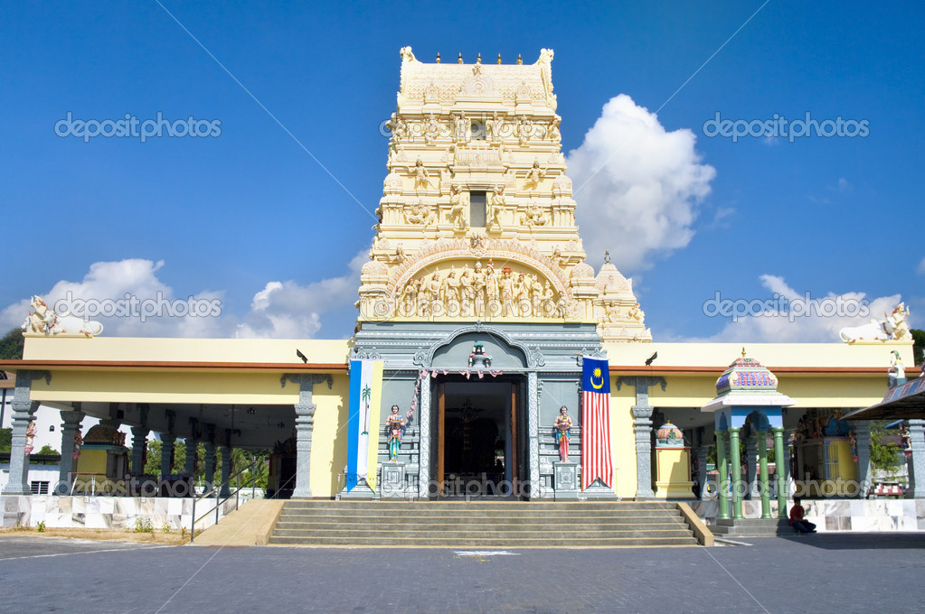 Sri Vishwanather Visalatchi Alayam. Penang, Malaysia  — Stock Photo #6870144