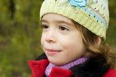 Garota adorável criança — Fotografia Stock