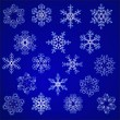 Snowflakes — Stock Vector #7622339