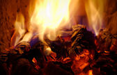 Body of flame — Stock Photo