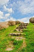 Stone stairway — Stock Photo