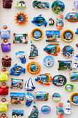 Stand of sea souvenirs — Stock fotografie