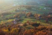 High view on landscape — Foto de Stock