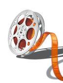 Film reel — Stockvektor