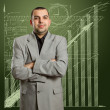Male in suit — Stock Photo