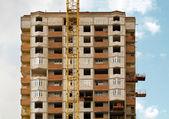 Development with crane — Stock Photo