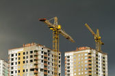 Development with crane — Stock Photo