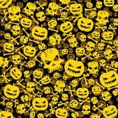 Halloween abstract background — Stock Vector