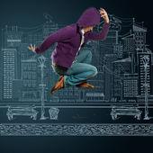 Bailar como michael — Foto de Stock