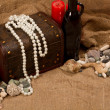 Sea pearls and stones — Stockfoto