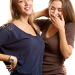 Two Woman Talking — Stock Photo #7678784