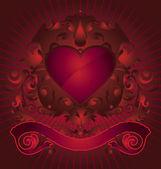 Forme de coeur — Vecteur