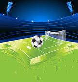 Football sport stadium — Stock Vector