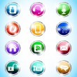 Royalty-Free Stock Vector Image: Mobile icons