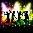 Royalty-Free Stock Vector Image: Dancing girls and boys