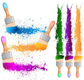 Paint brush — Stock Vector
