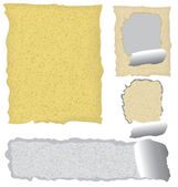 Grunge paper — Stock Vector