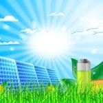 Solar panel — Stock Vector #7859262