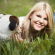 Man';s best friend — Stock Photo