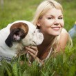 Man's best friend — Stock Photo