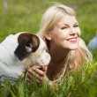 Stock Photo: Man;s best friend