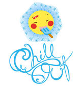 Ace Chill Out — Stock Vector