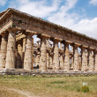 Greek temple Paestum — Foto Stock