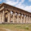 Greek temple Paestum — Stock Photo