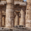 Greek temple Paestum — Stock Photo #6811128