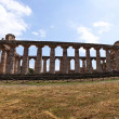 Greek temple Paestum - Stock Photo