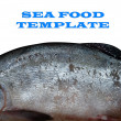 Fish template — Stock Photo
