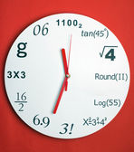 Creative clock — Stockfoto
