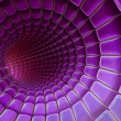 Stock Photo: Violet 3d abstraction background