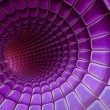 Violet 3d abstraction background - Stock Photo
