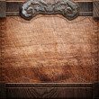 Stock Photo: Wood background texture (antique furniture)