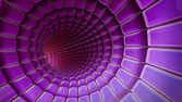 Violet 3d abstraction background — Stock Photo