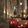Red candles — Stock Photo #7147882