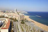 Barcelona in miniature — Stock Photo